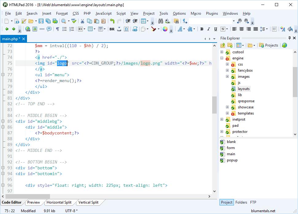 HTMLPad 2016