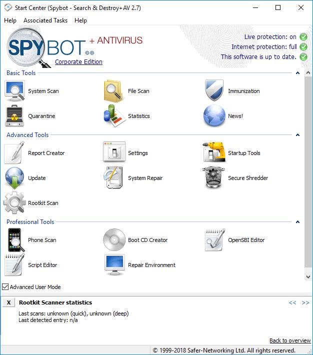 Spybot - Search & Destroy 1.6.2.46