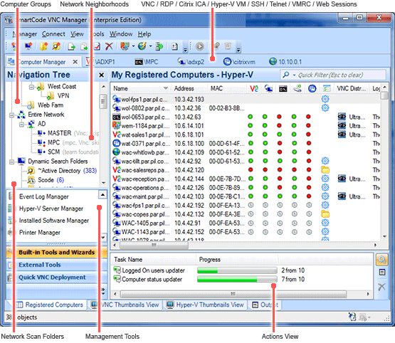 SmartCode VNC Manager Enterprise
