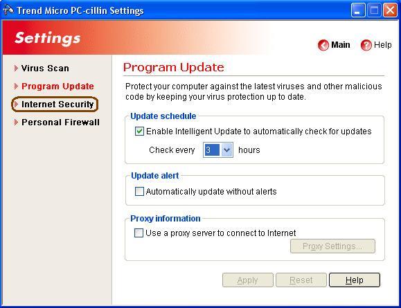 TrendMicro PC Cillin Internet Security.2007.v15.30.1151 ...