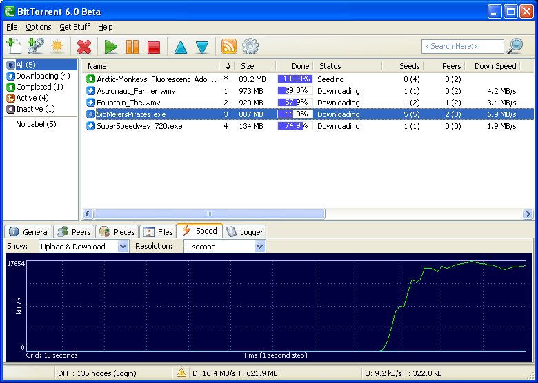 BitTorrent for Windows