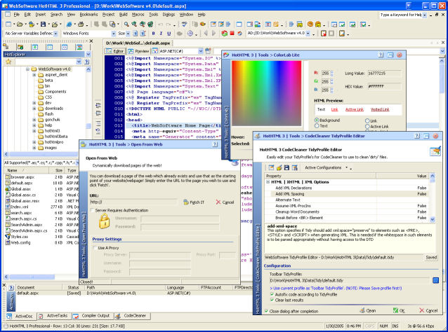 HotHTML 3 Professional