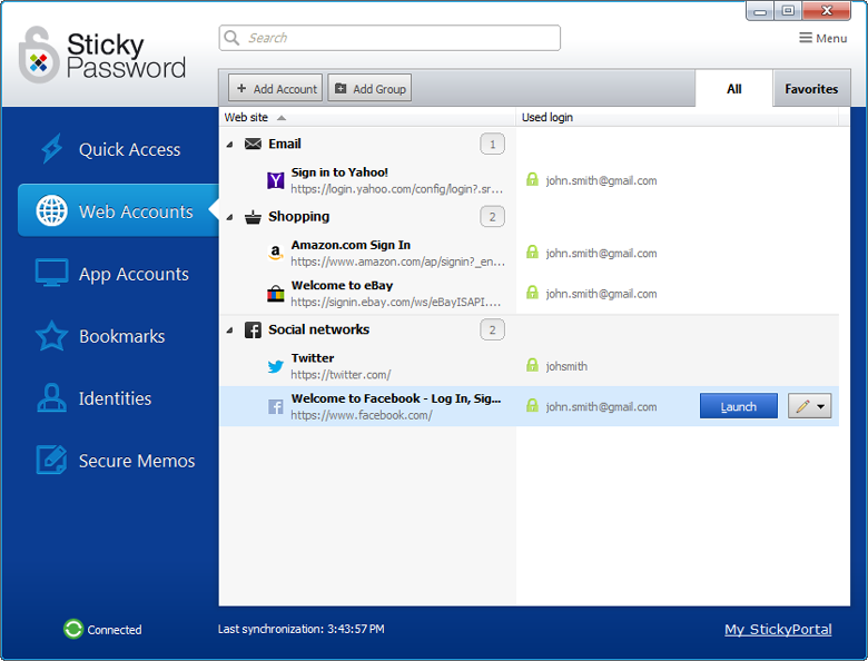 Sticky Password for Windows