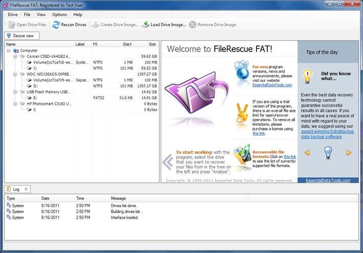 FileRescue for FAT