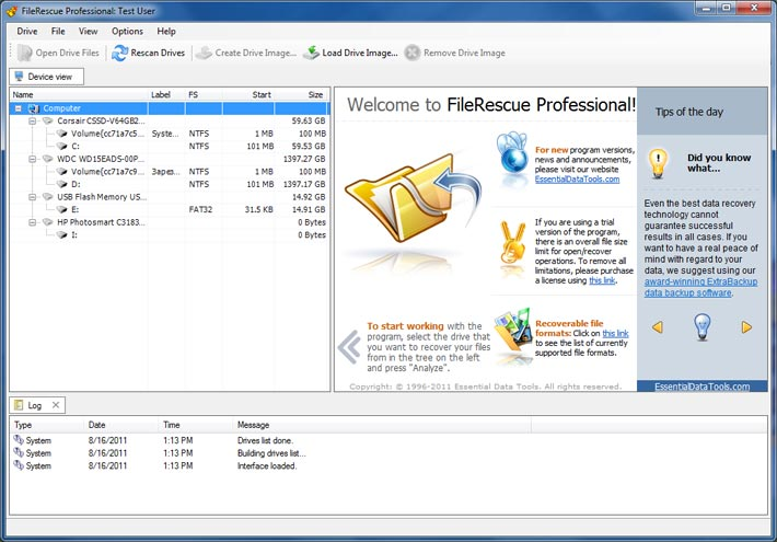 FileRescue Professional