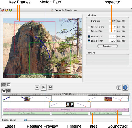 how to add slide into quicktime movie