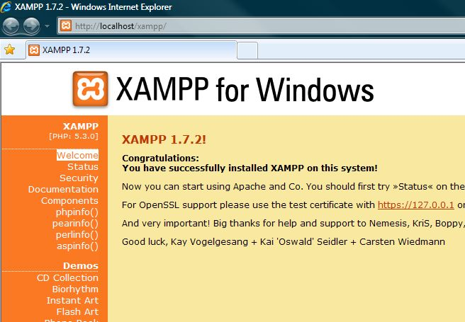 XAMPP for Linux