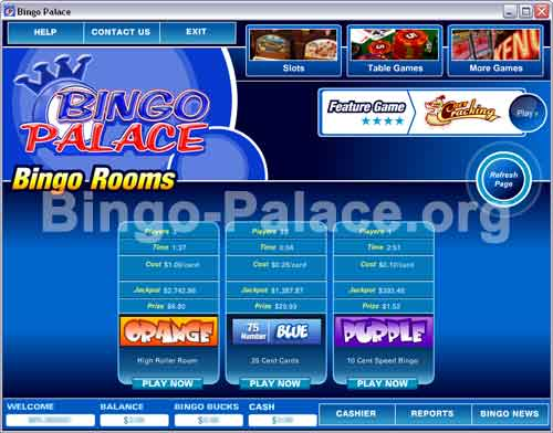 Palace bingo and casino crazy slots casino instant play