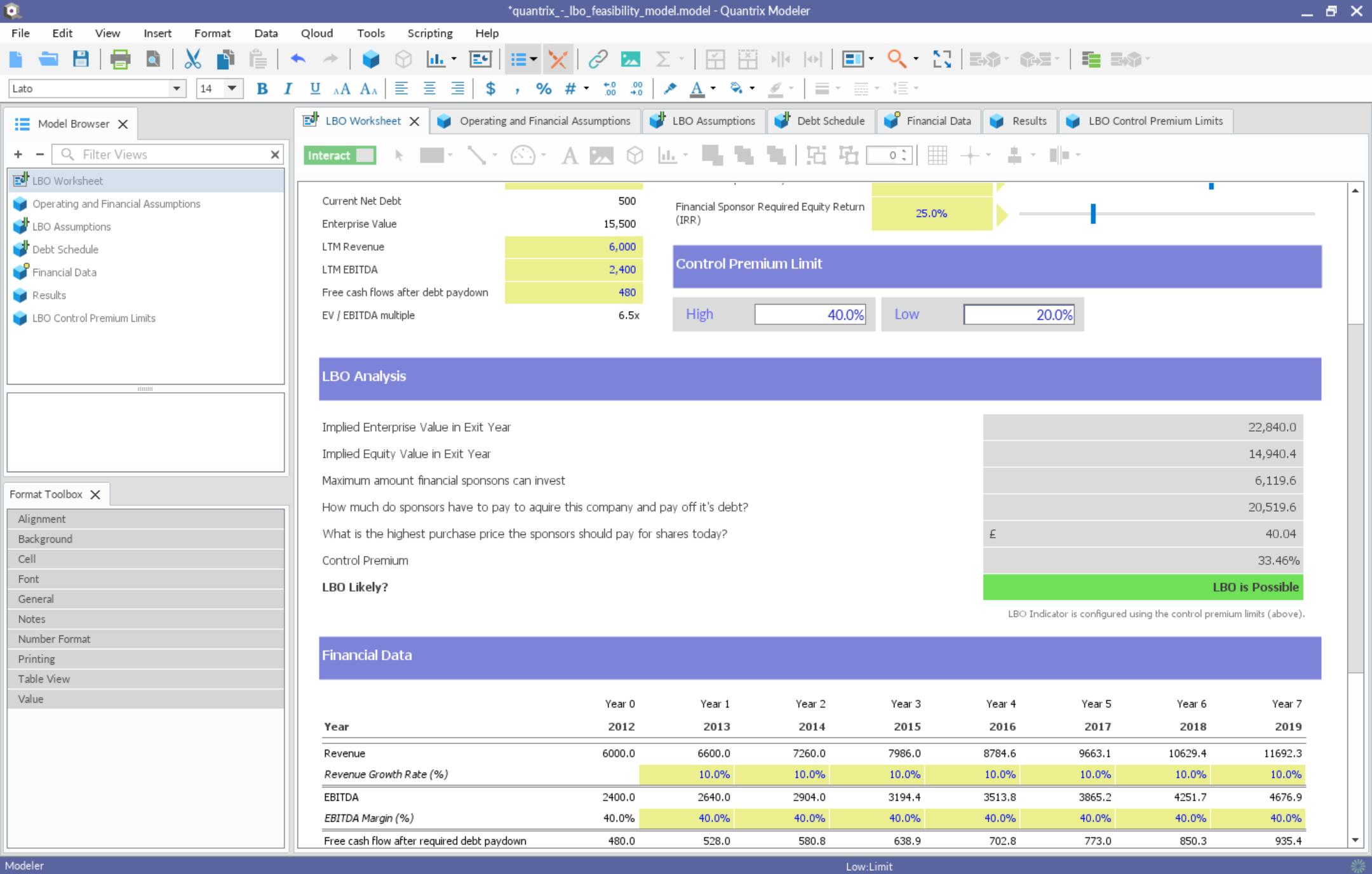 Quantrix Modeler | FileForum