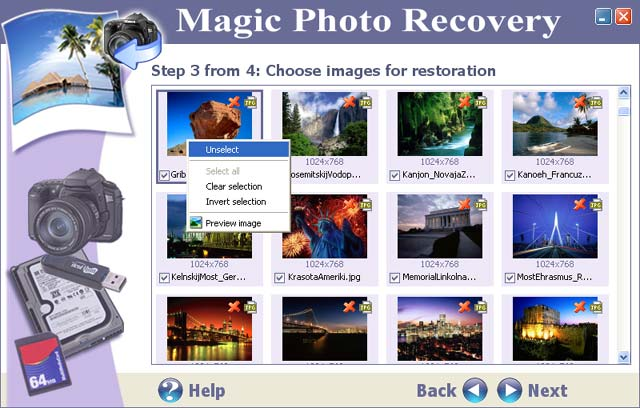 Magic Photo Recovery