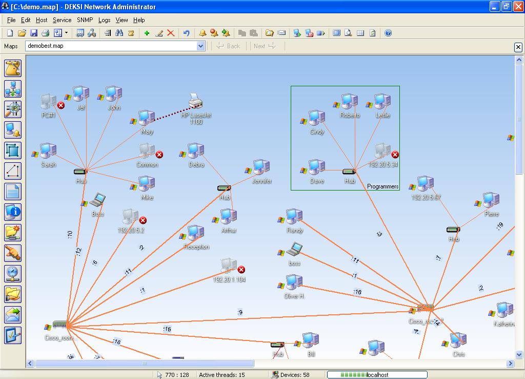 DEKSI Network Administrator 8.7