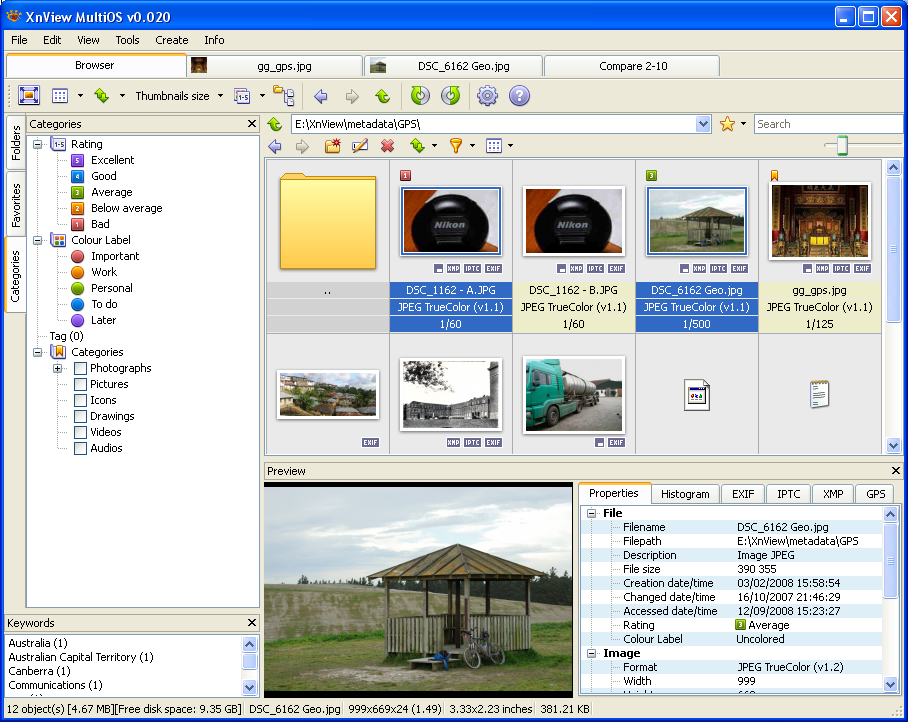 XnViewMP for Windows | FileForum