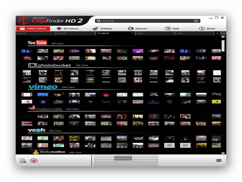 Ashampoo ClipFinder HD