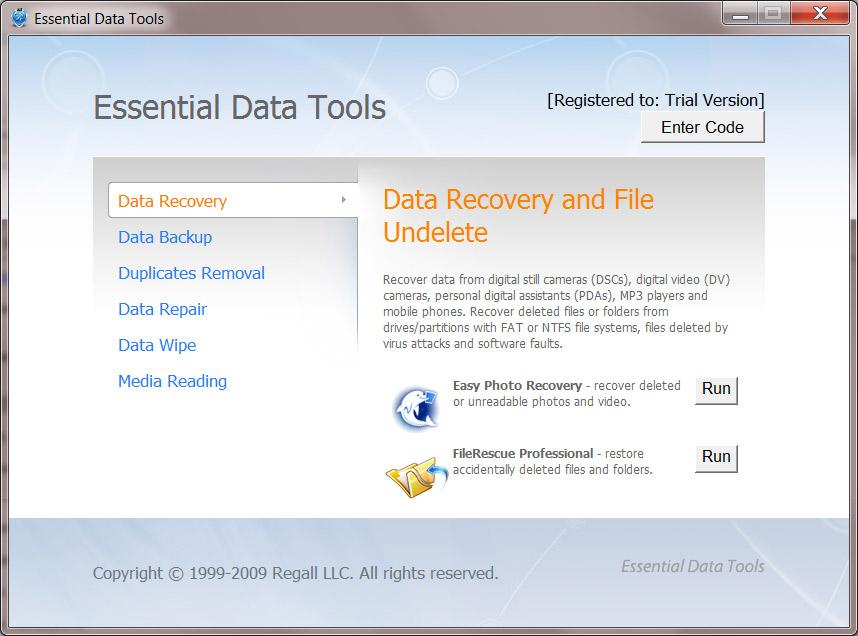 Essential Data Tools