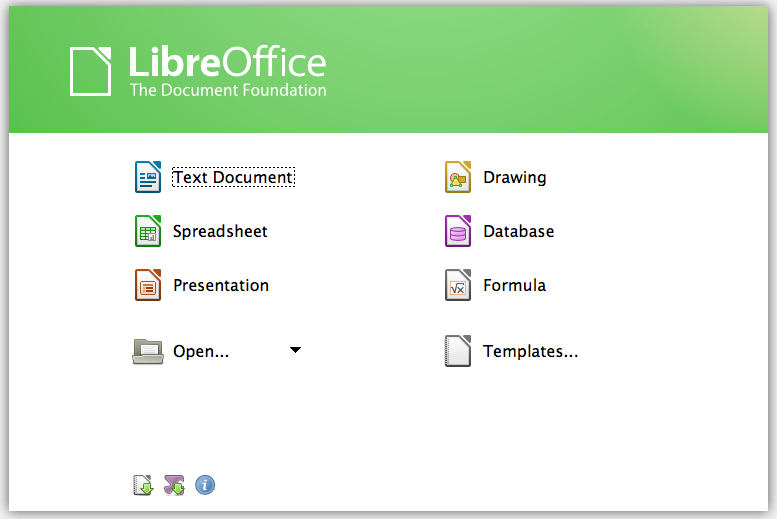LibreOffice for Mac OS X