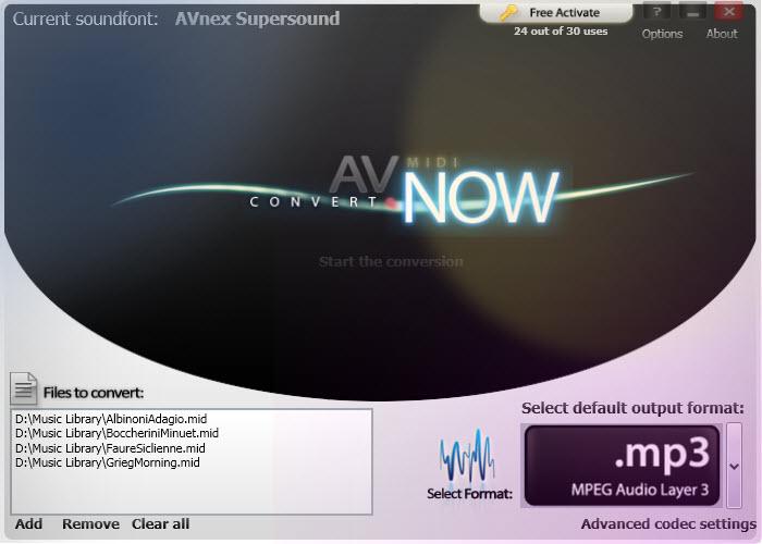 AV MIDI Converter