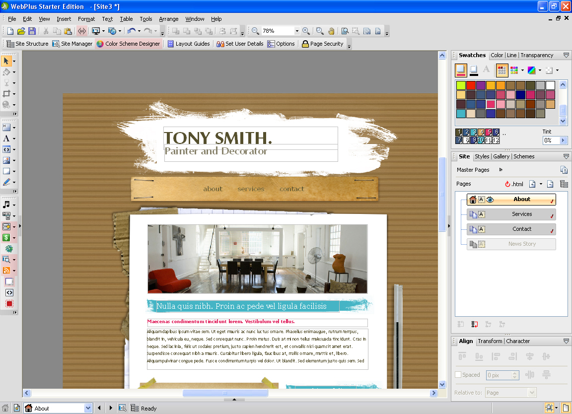Serif WebPlus Starter Edition - Free download and software ...