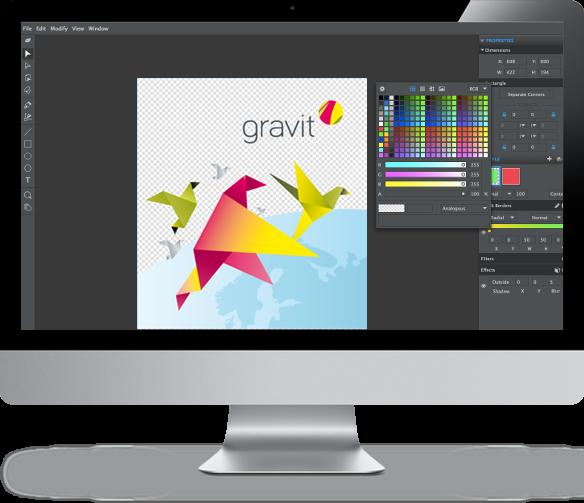 Gravit for Mac OS X