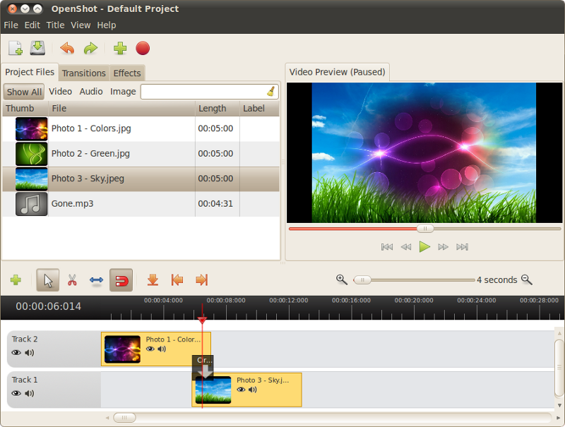 OpenShot for Windows