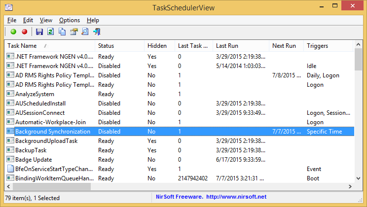 TaskSchedulerView (64-bit)