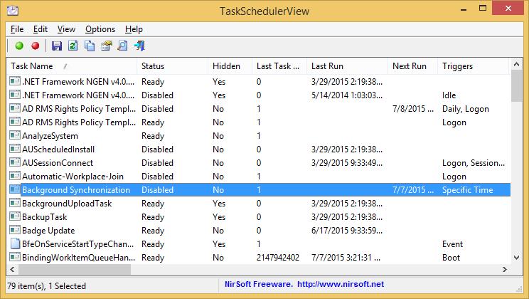 TaskSchedulerView (64-bit)