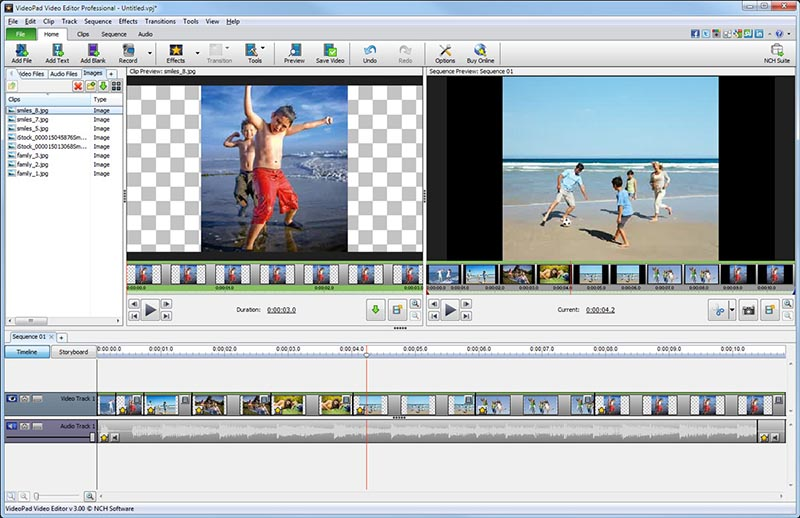 VideoPad for Mac OS X