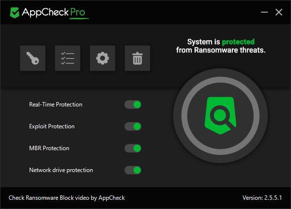 AppCheck Anti-Ransomware