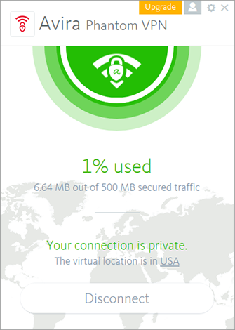 Avira Phantom VPN for Mac OS X