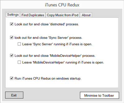 iTunes CPU Redux