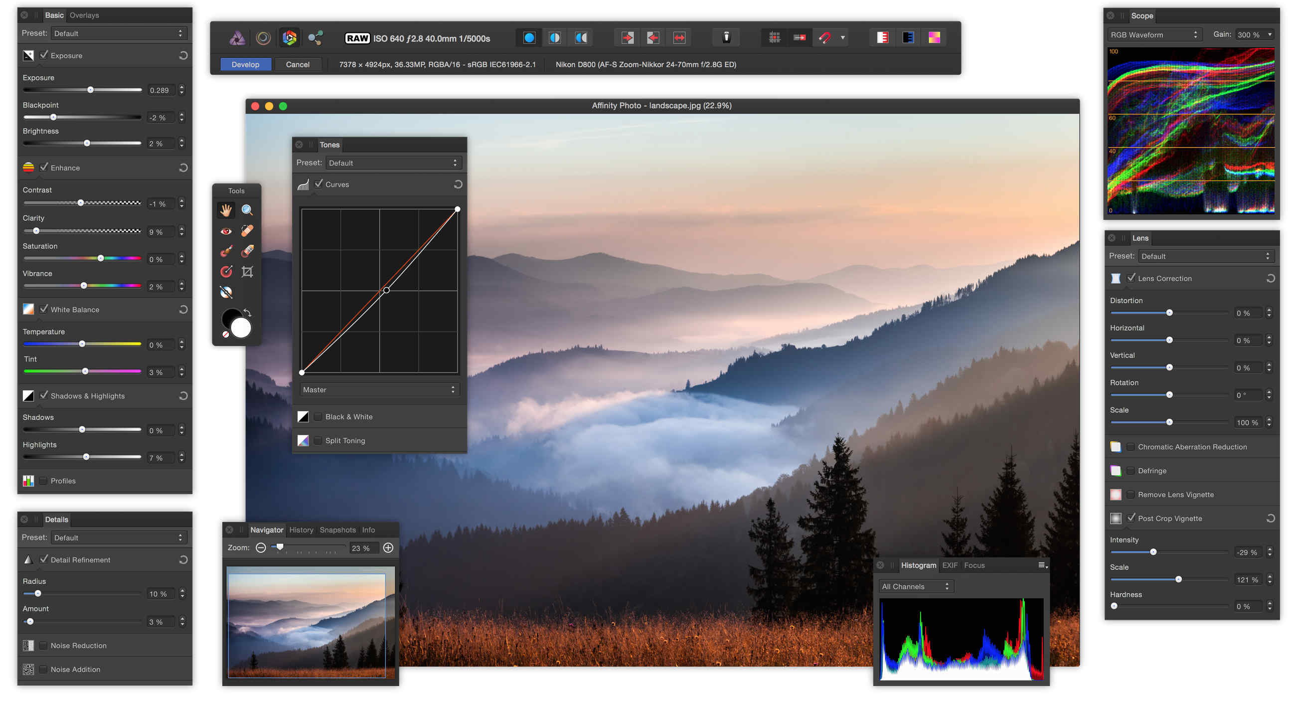 Affinity Photo  for Mac OS X