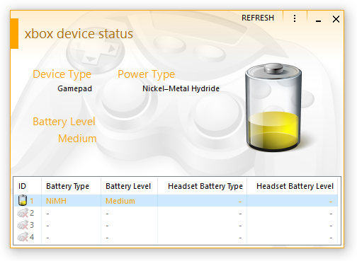 XBox Device Status