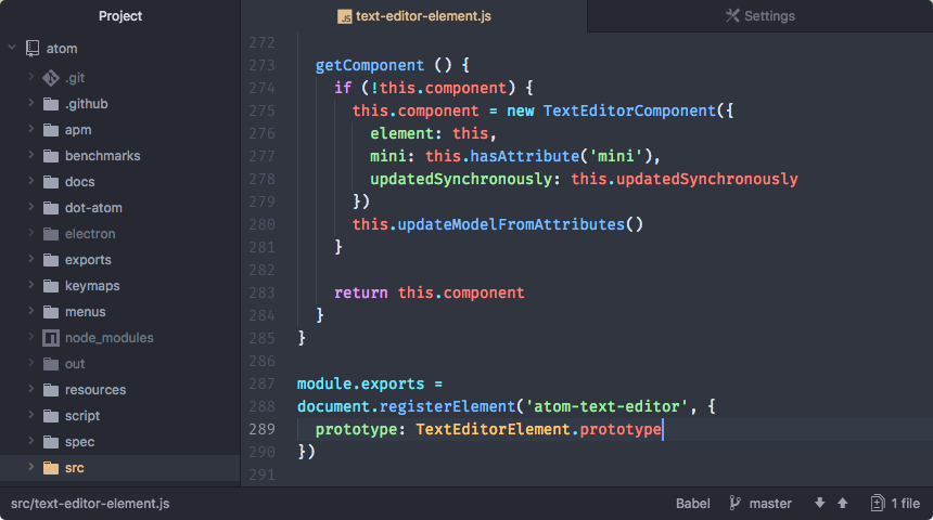 Atom for Windows