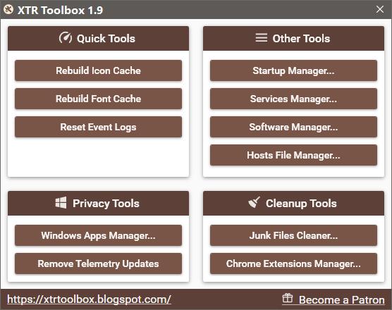 XTR Toolbox