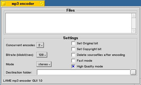 lame mp3 encoder 3.98.1