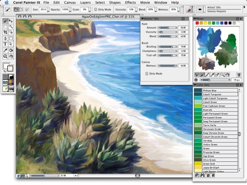 Corel Painter for Mac OS X