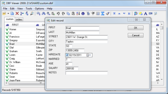 DBF Viewer 2000 | FileForum