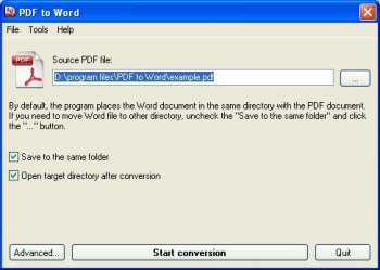 quick pdf com pdf to word